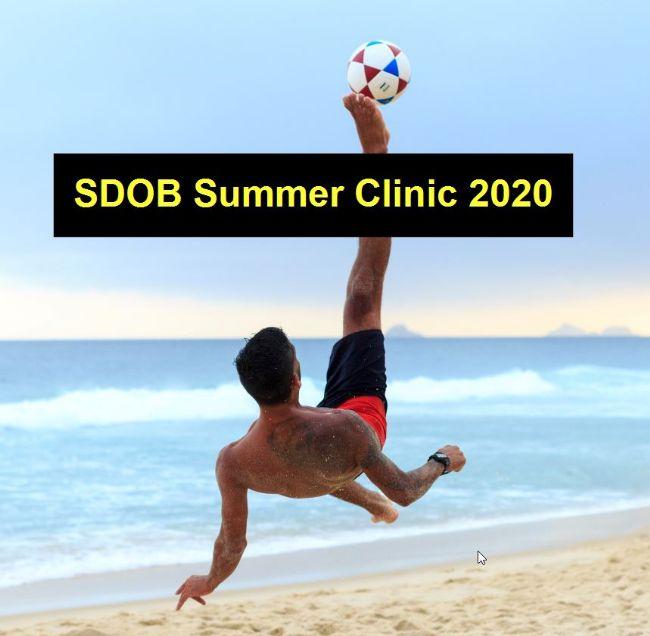 Wijziging tijden Summer Clinic