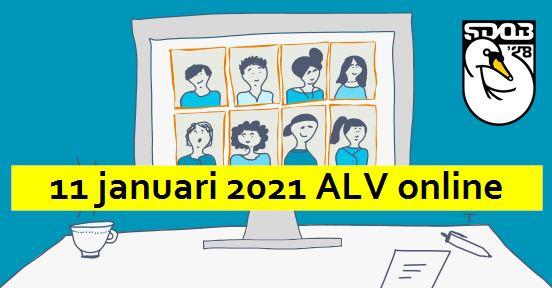 11 januari 2021: ALV Online